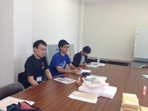 左より橋本さん、菱井さん、枡谷さん