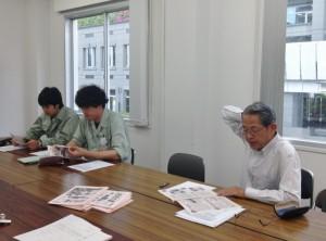 左より菱井さん、岡見さん、東郷さん